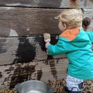 Painting the groynes